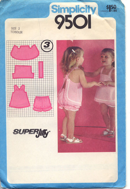 super jiffy sundress bloomers sewing pattern
