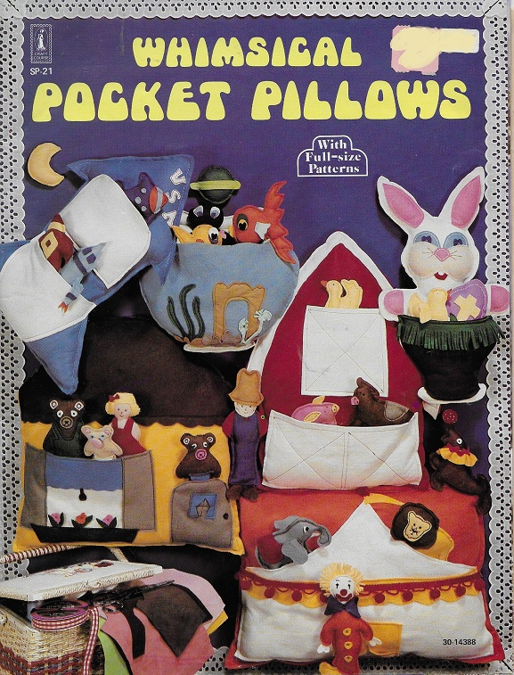 toy pocket pillow sewing pattern