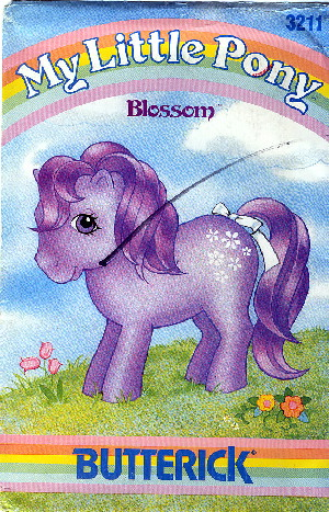 My Little Pony Blossom sewing pattern