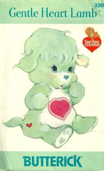 Care Bears Sewing Pattern