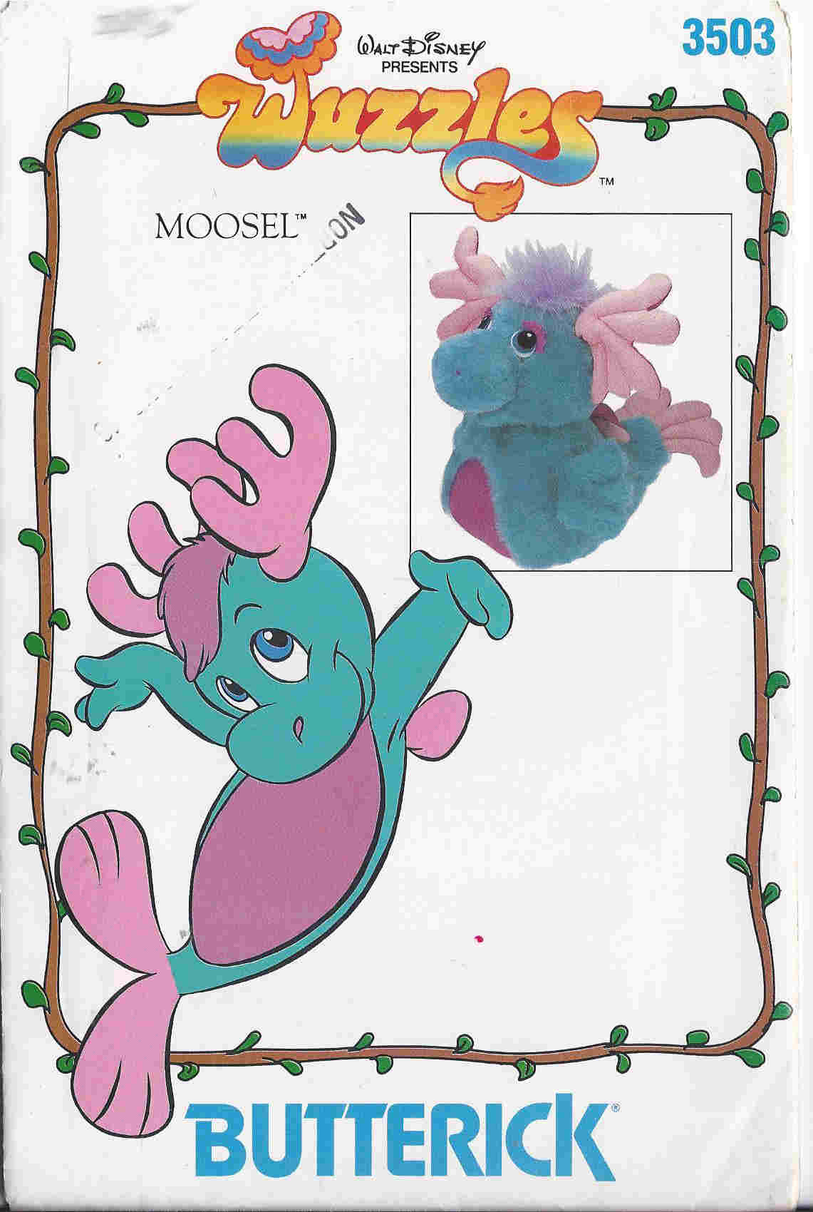 wuzzles sewing pattern