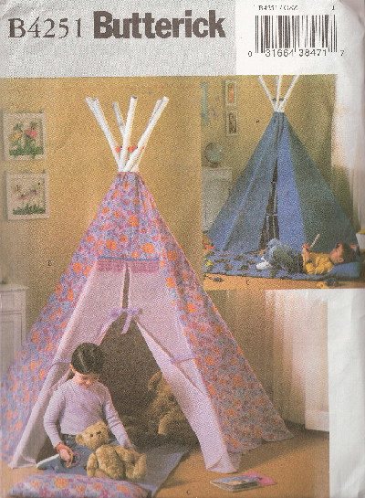 tepee sewing pattern