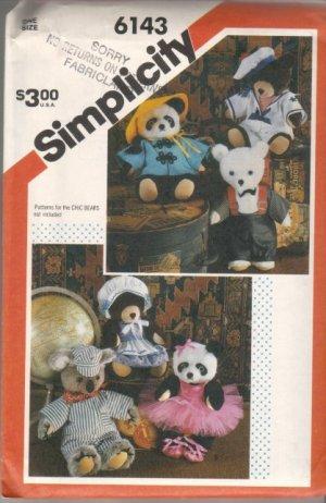stuffed bear sewing pattern