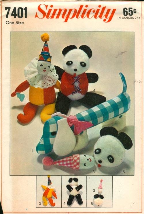 toy bean bag sewing pattern