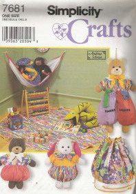 toys sewing pattern