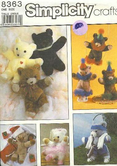 stuffed animal sewing pattern