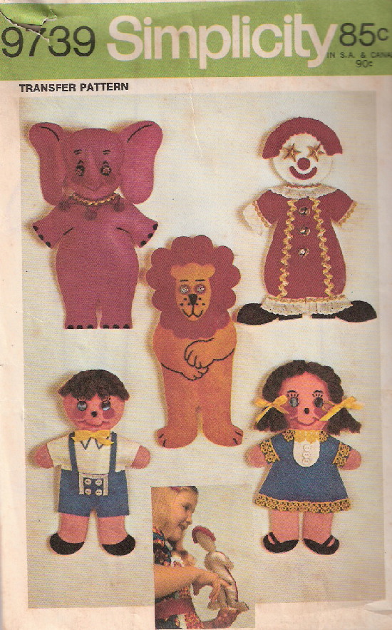 puppet sewing pattern