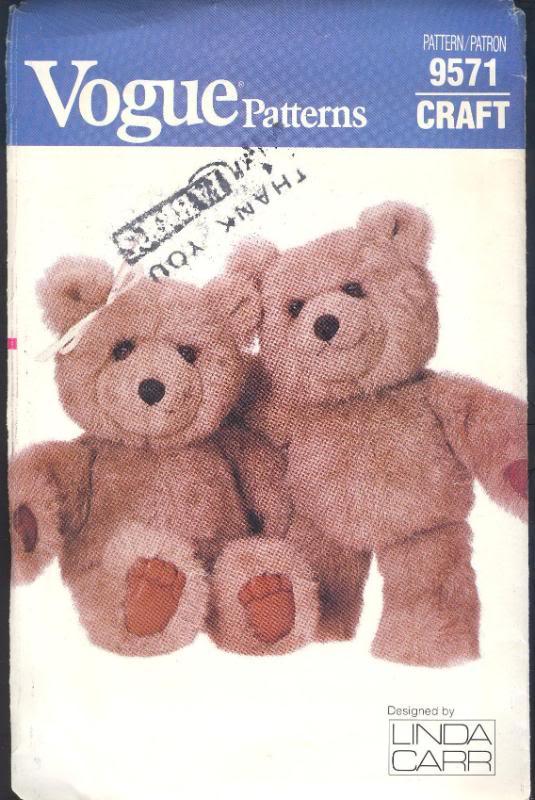 bear sewing pattern