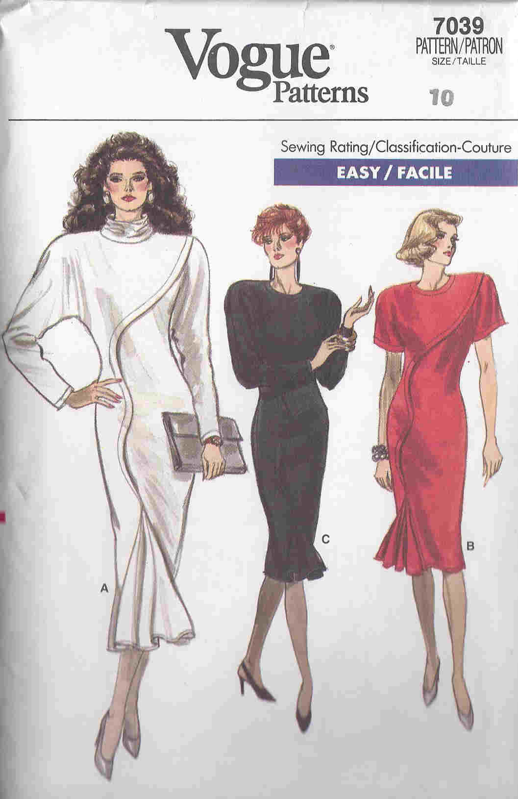 vogue sewing pattern