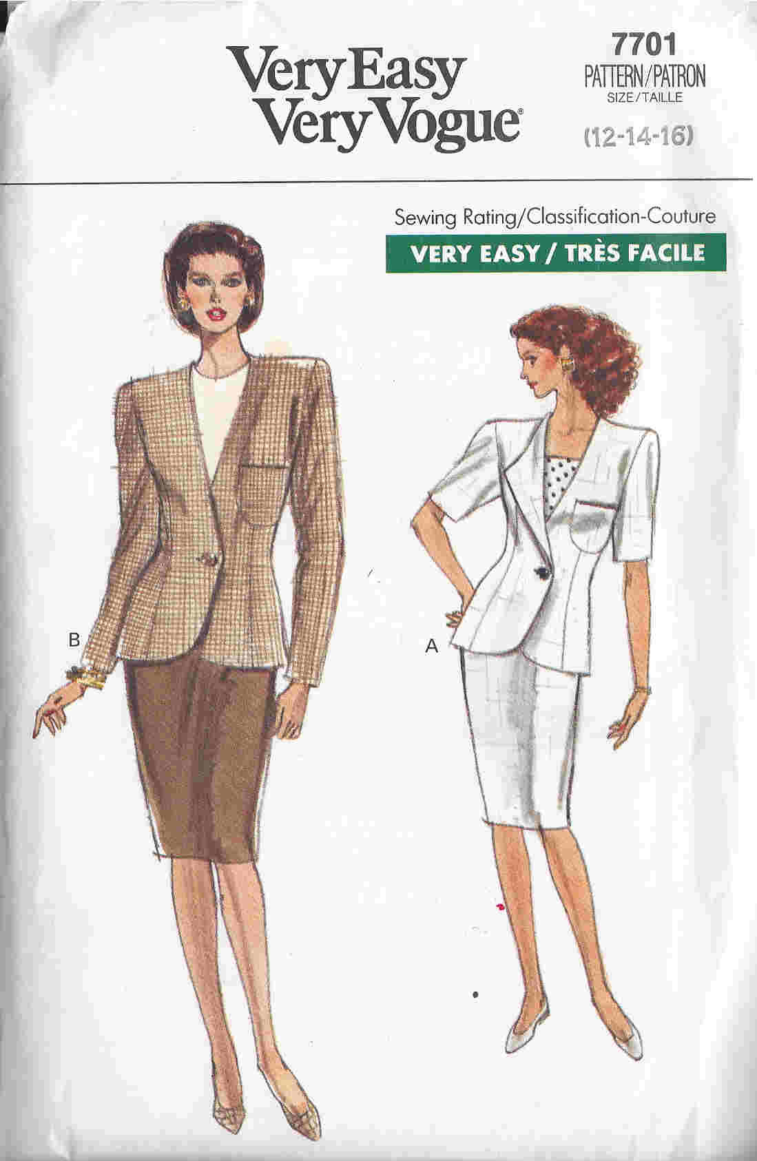 jacket skirt sewing pattern