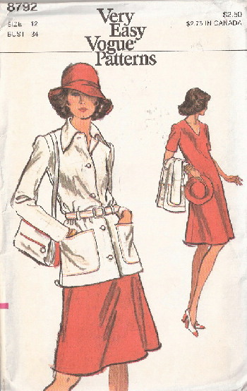 jacket dress sewing pattern