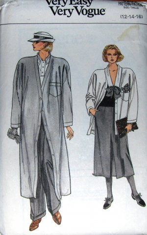coat jacket skirt pants sewing pattern
