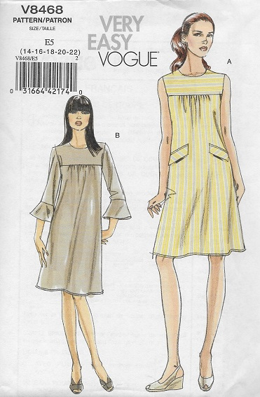 very easy dress sewing pattern