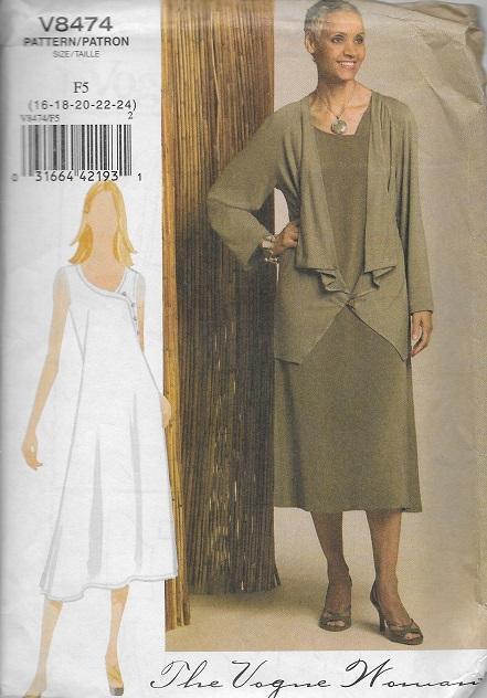 dress jacket sewing pattern