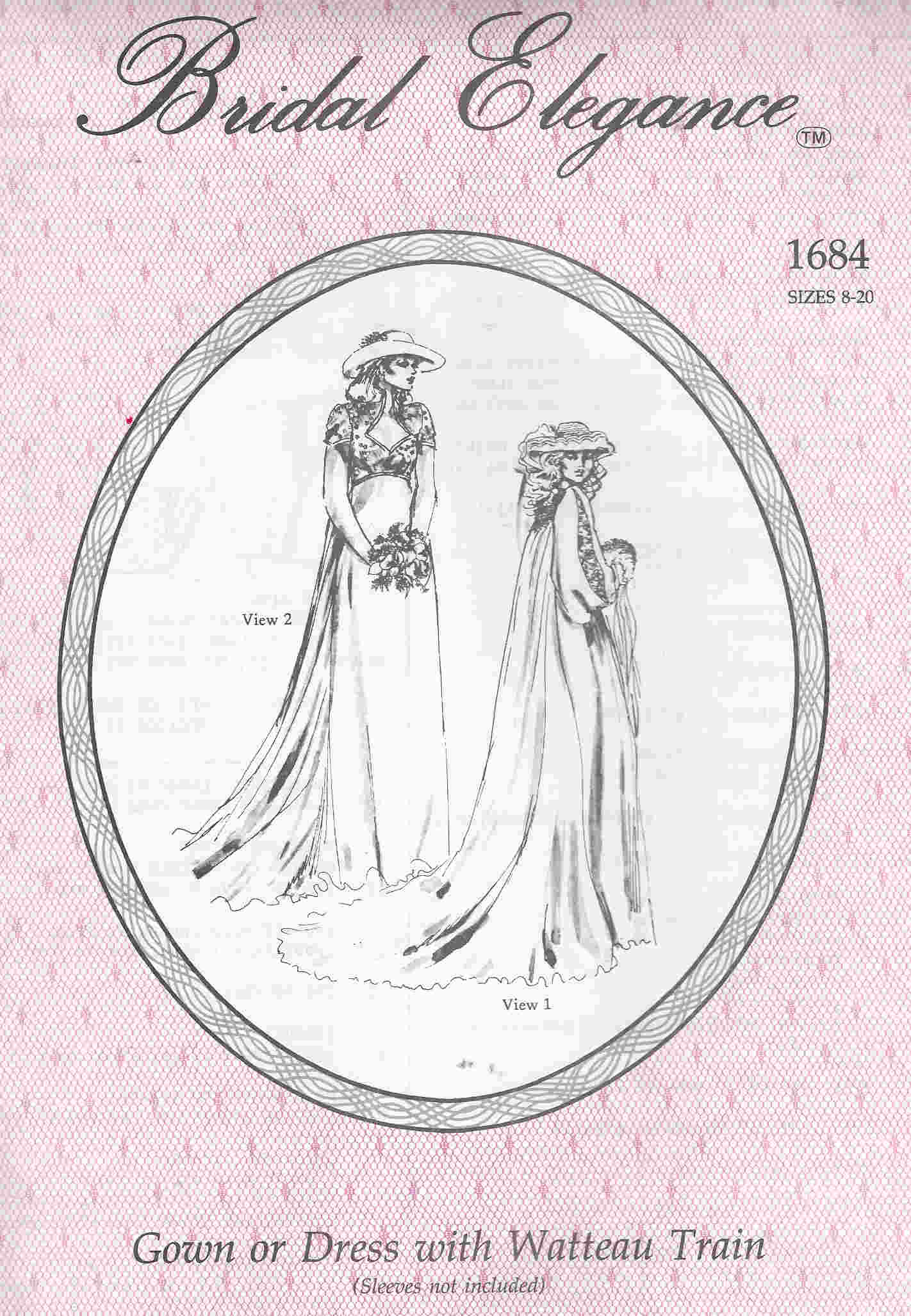 Bridal Elegance sewing pattern