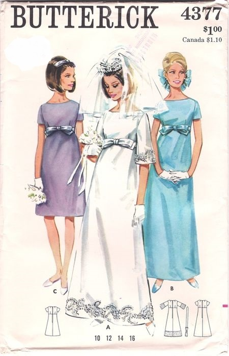 bridal Dress sewing pattern