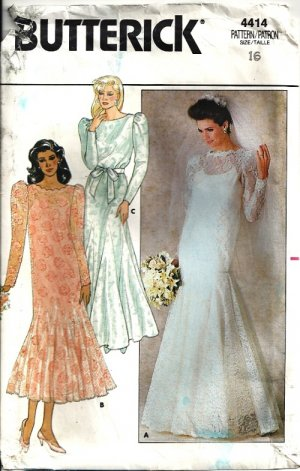 bridal gown sewing pattern