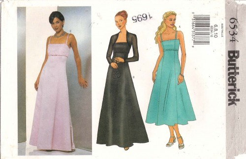 formal dress sewing pattern