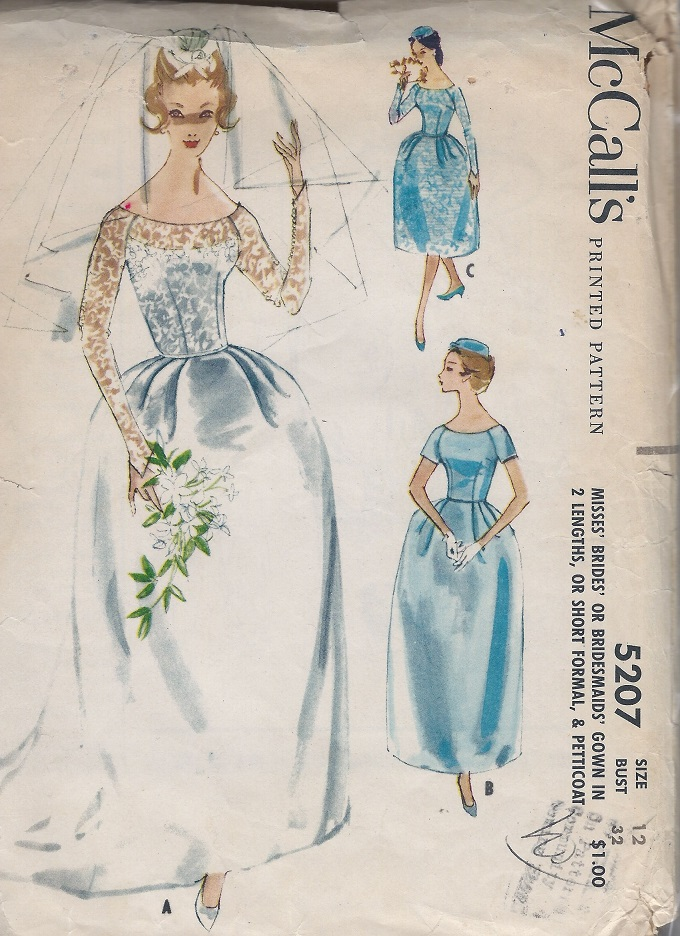bride bridesmaid petticoat gown sewing pattern