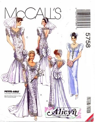 alicyn exclusives mermaid bridal gowns bridesmaid sewing pattern