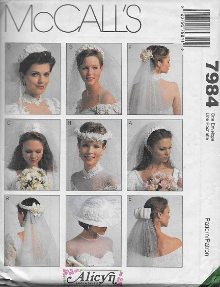 alicyn exclusives bridal veilssewing pattern