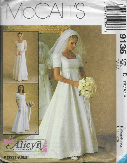 alicyn exclusives bridal gown bridesmaid dress sewing pattern