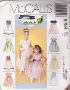 flower girl dress sewing pattern