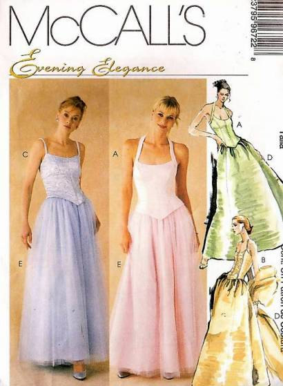 Evening Elegance sewing pattern