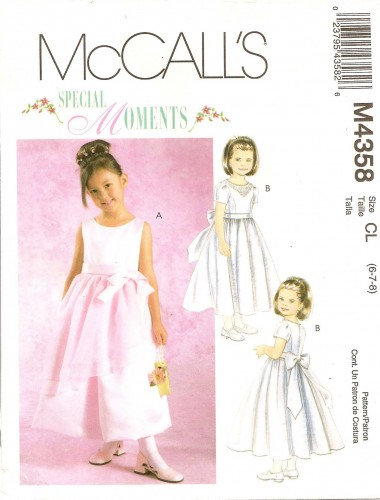 Special Moments sewing pattern