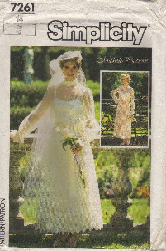 bride bridesmaid gown sewing pattern