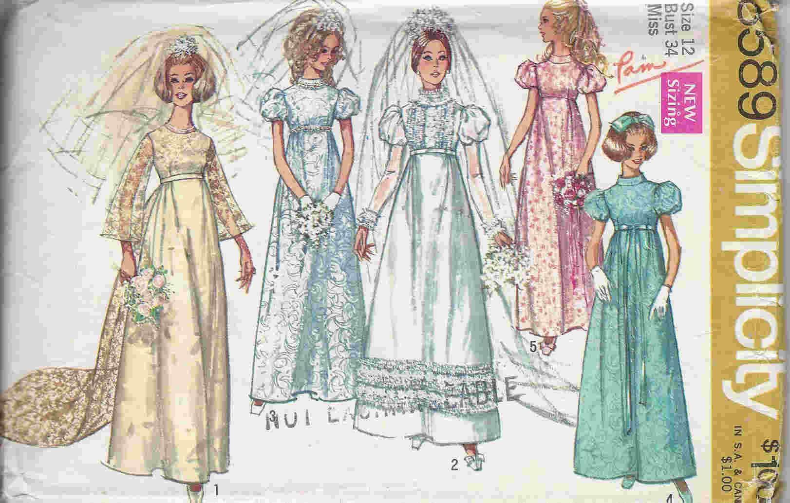 wedding gown train sewing pattern