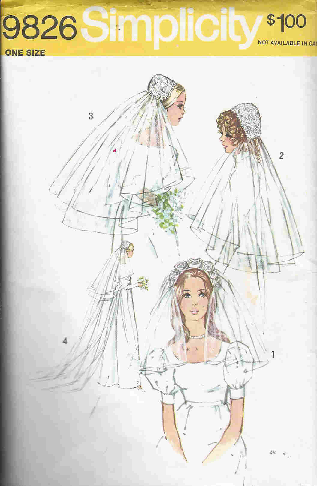 wedding veils sewing pattern