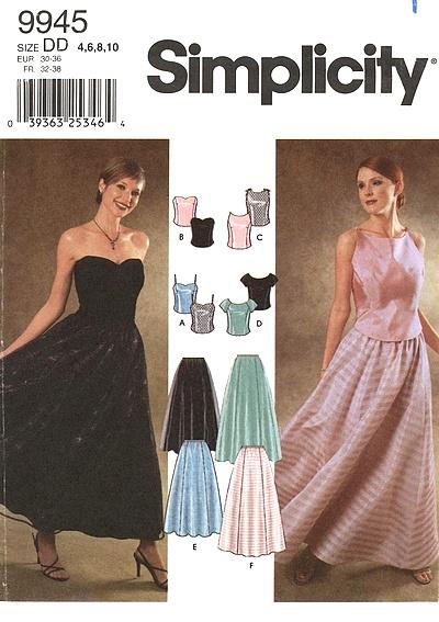 vintage wedding sewing pattern