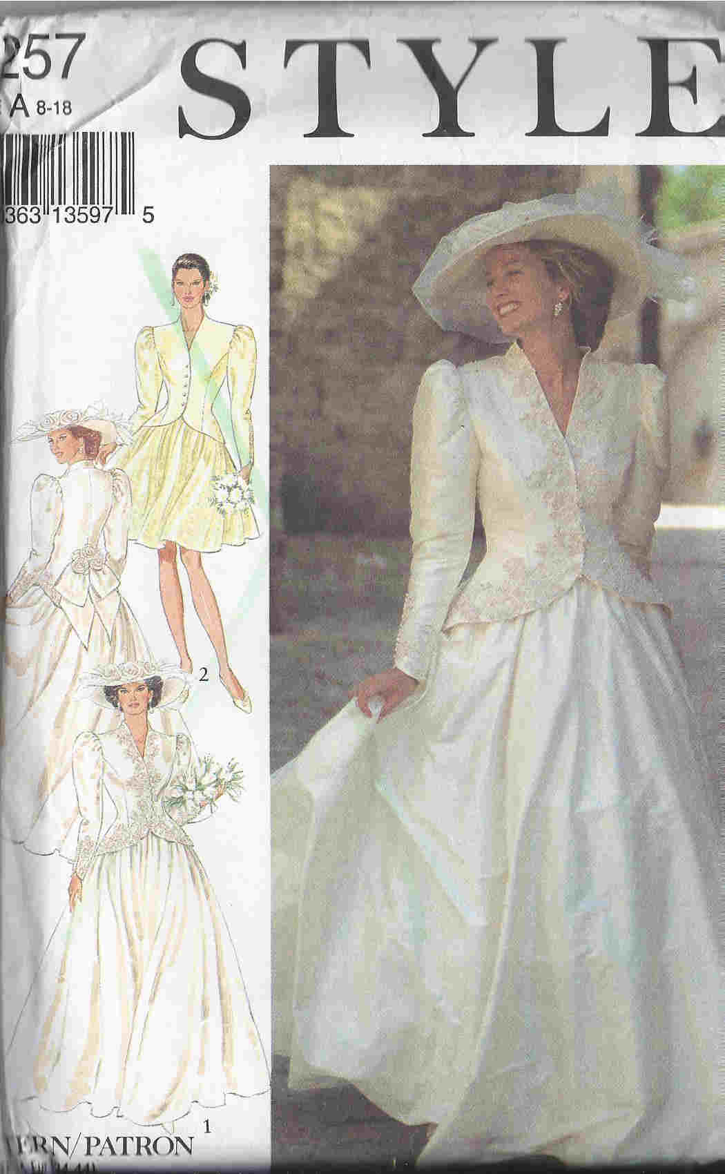 wedding sewing pattern