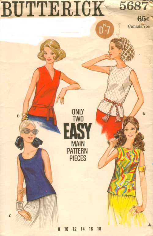 overblouse sewing pattern