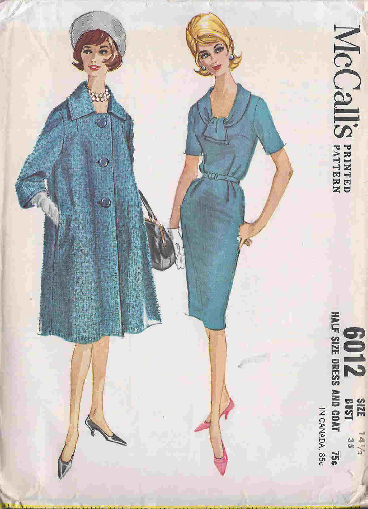 dress coat sewing pattern
