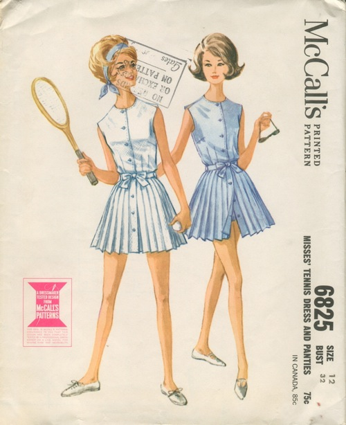 tennis dress sewing pattern