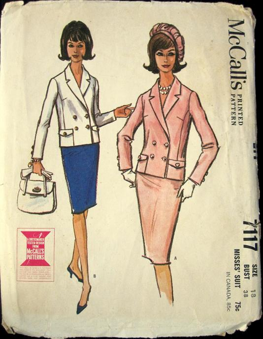 suit sewing pattern
