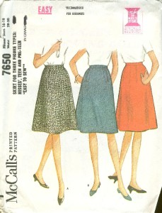 skirt sewing pattern