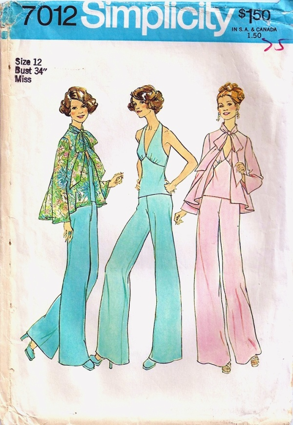 top halter pants sewing pattern