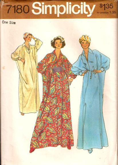caftan cummerbund sewing pattern