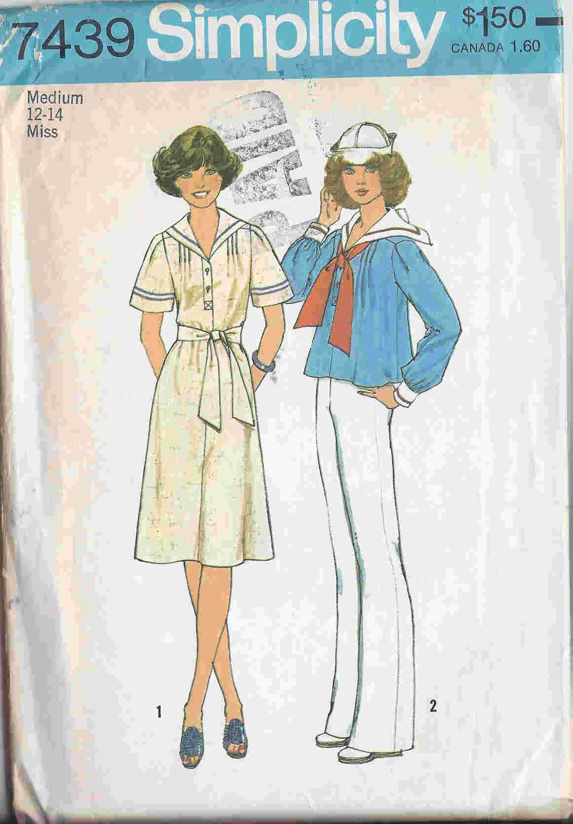 sailor top dress sewing pattern