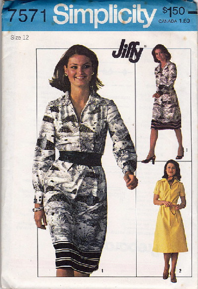 jiffy dress sewing pattern