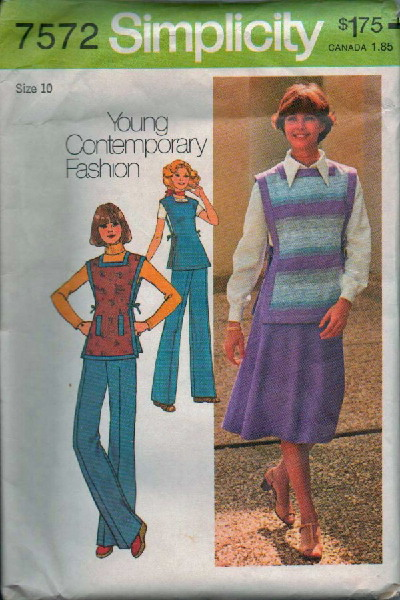 skirt pants tunic sewing pattern