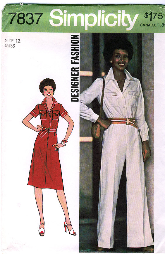 jumpsuit dress sewing pattern