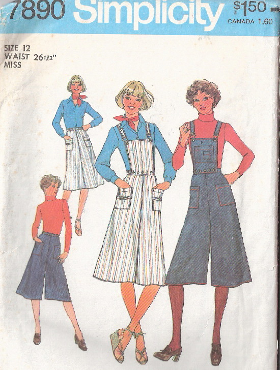 skirt pantskirt sewing pattern