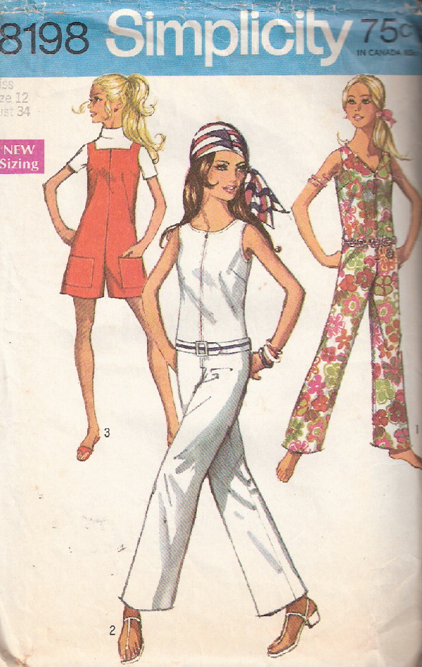 jumpsuit sewing pattern