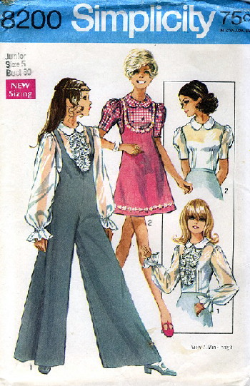 jumpsuit blouse sewing pattern