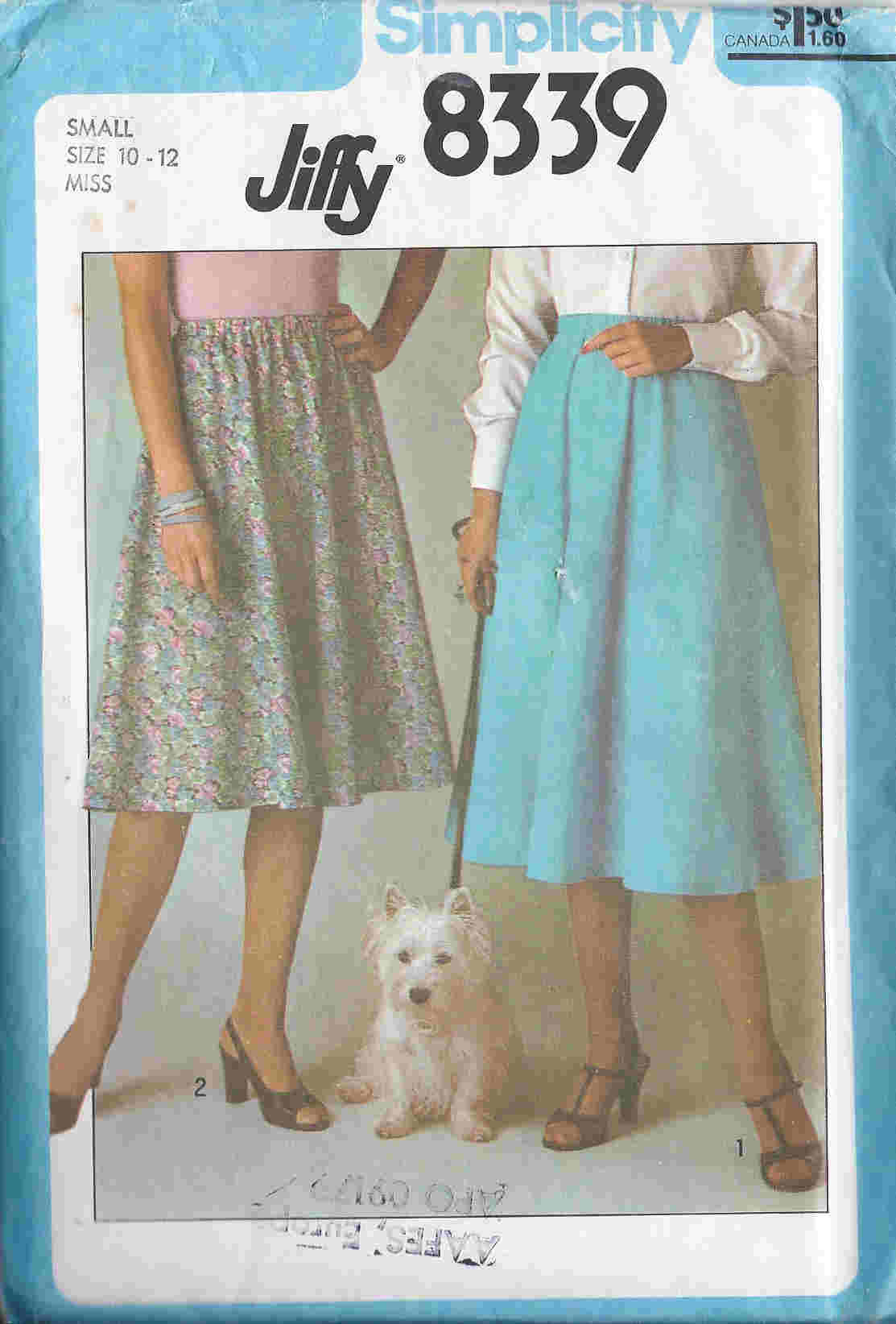Jiffy Skirt sewing pattern