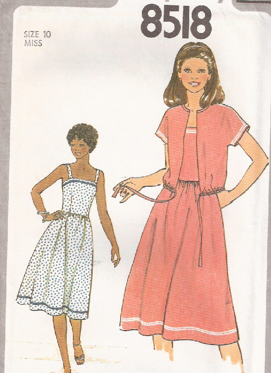 sundress jacket sewing pattern